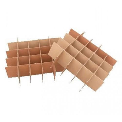 Как сделать коробку с ячейками из картона своими руками 8