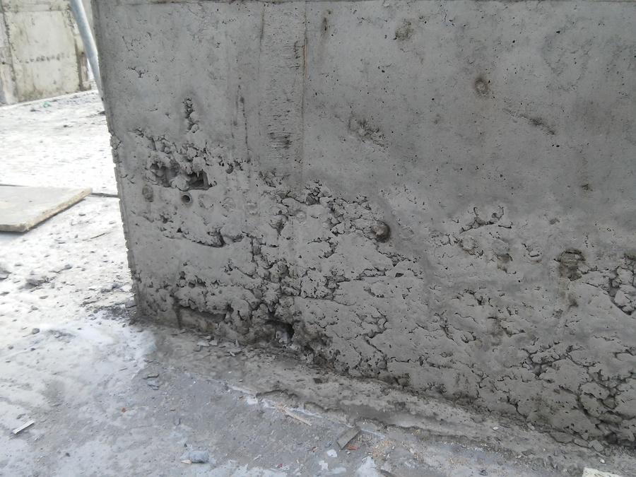 провибрированного бетона