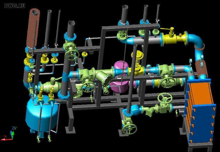 Обвязка пластинчатых теплообменников фото Кожухотрубный конденсатор Alfa Laval CPS 235 Петрозаводск