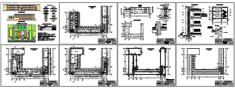 Архитектурно конструктивный курсовой проект по теме Общественное   часть проекта 8 листов А2 autocad2004 2 Файл ПЗ основная часть пояснительной записки 25 листов А4 autocad2004 3 Файл ПЗ 15 20